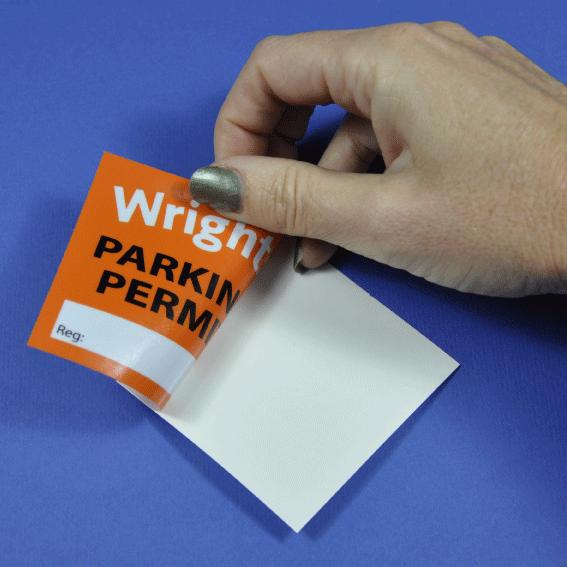 Car Parking Permit Stickers I Car Windscreen Stickers I