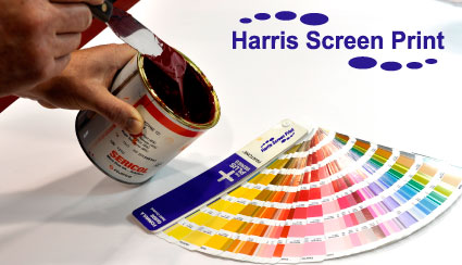 Screen Printing Ink Pallet Knife and Pantone Book