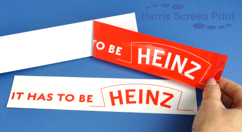Heinz get it right with catchy car rear window stickers