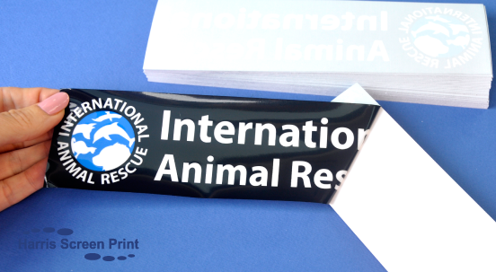 International Animal Rescue Rear Window Stickers