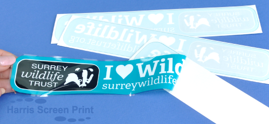 Surrey Wildlife Trust buys car window stickers direct from the manufacturer